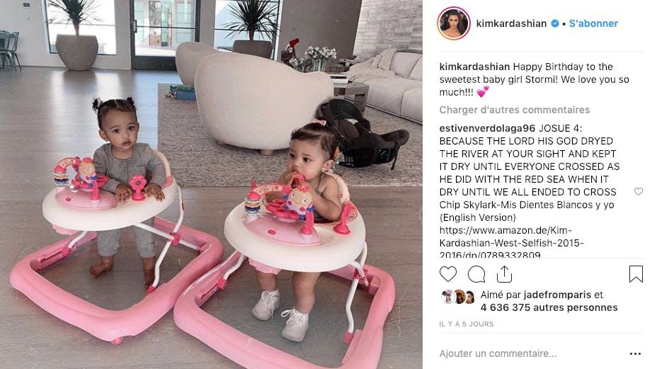 Chicago West et Stormi Jenner : papotage entre cousines