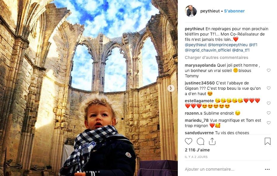 Ingrid Chauvin : son fils a la tête dans les nuages