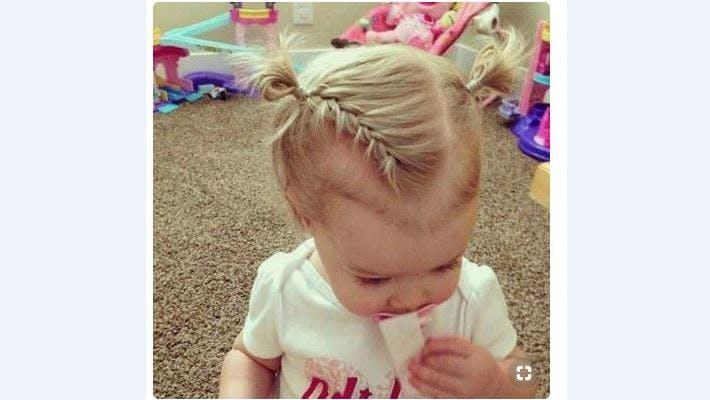 idées de coiffures pour bébé aux cheveux courts | parents.fr