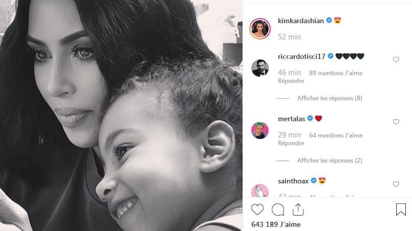 Kim Kardashian, Joey Starr, Laurent Ournac... le diapo des people en famille