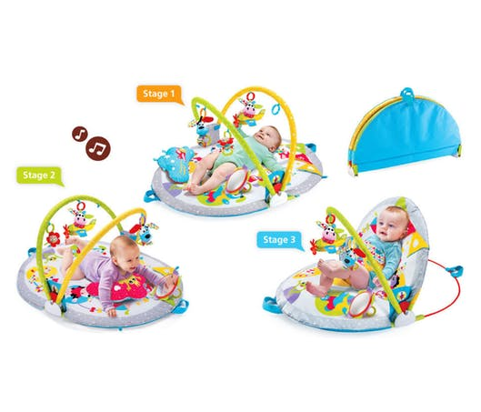 Le tapis Gymotion - Lay To Sit-Up Play™