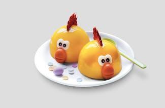 deux poussins de Pâques