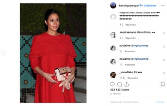 7 mois : on adore quand Meghan Markle voit rouge !