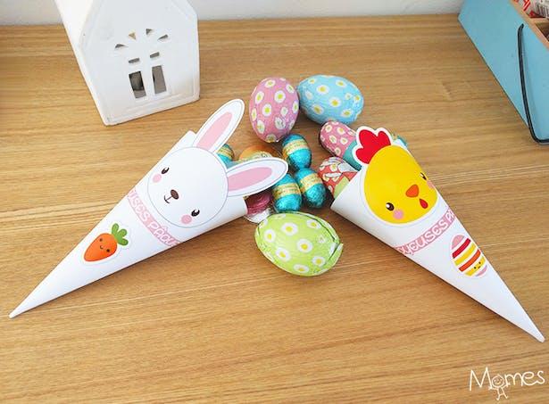 Petits cornets de Pâques