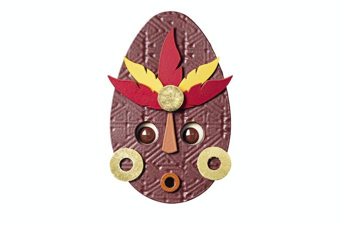 masque en chocolat