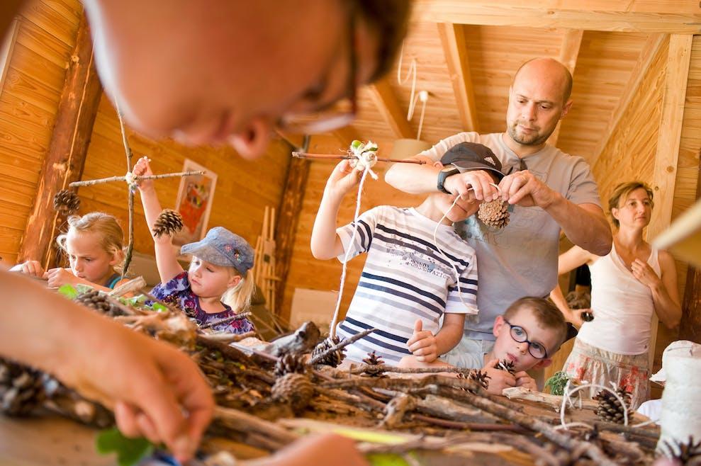 Les ateliers nature Huttopia