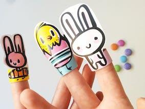 Marionnettes à doigts pour Pâques