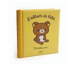 album de naissance bébé RILAKKUMA