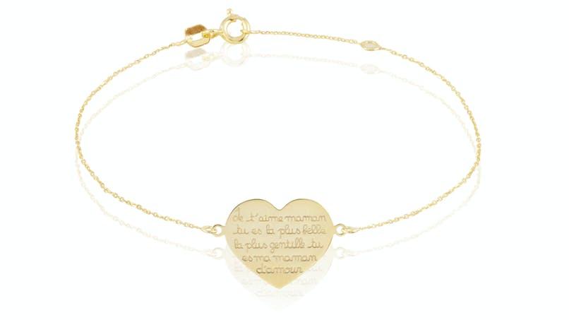 """Bracelet """"maman je t'aime"""""""