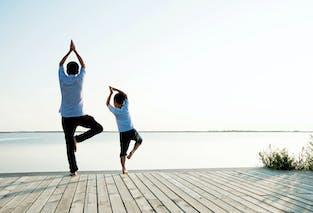 Sessions de yoga en famille à Evian