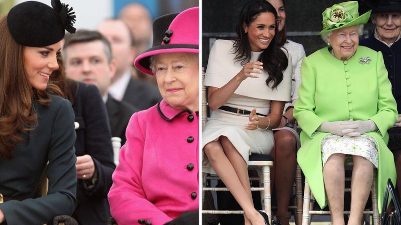 Avec Elisabeth II