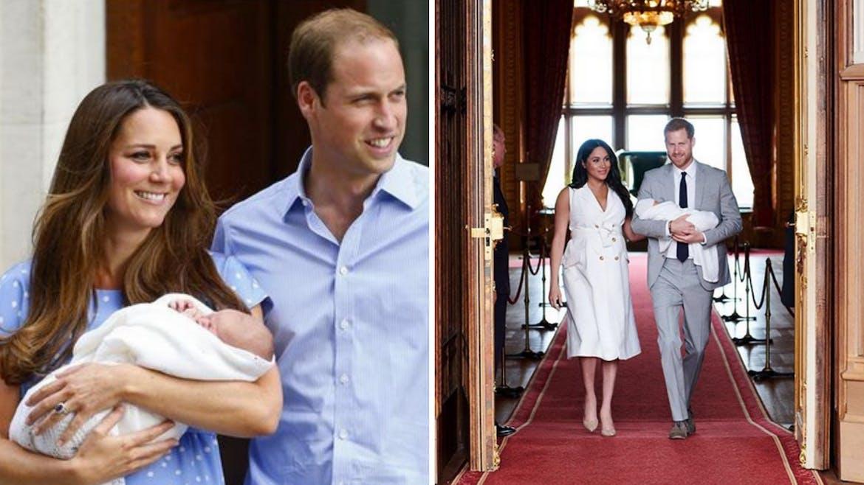 Naissance du prince George et d'Archie