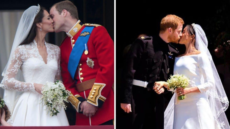 Le baiser des jeunes mariés