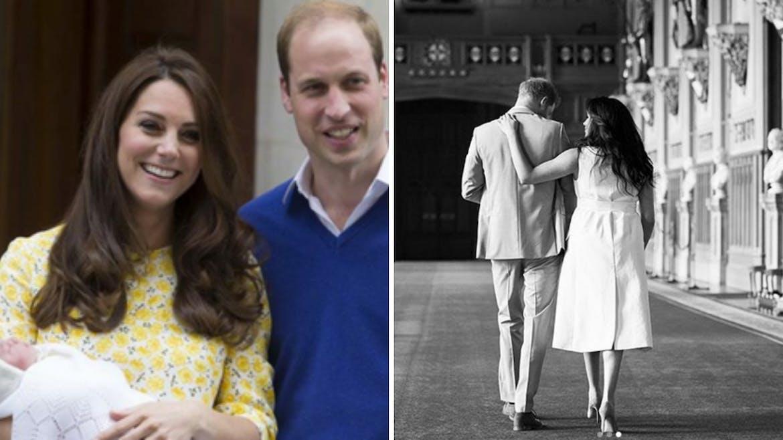 Naissance de la princesse Charlotte, Kate porte toujours le bébé dans ses bras