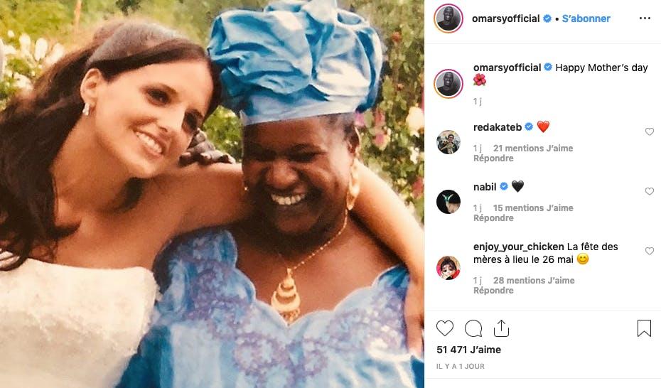 Omar Sy rend hommage à sa mère, et la mère de ses cinq enfants