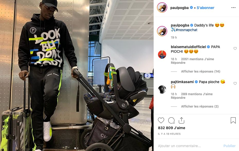 Paul Pogba en mode