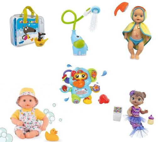 Les jouets pour le bain