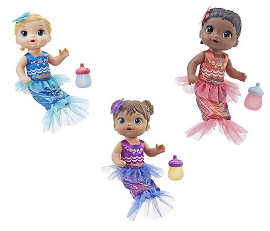 La poupée Baby Alive Sirène