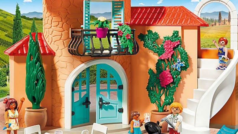 La villa de vacances