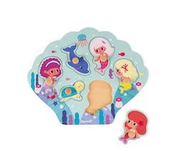 Le puzzle Happy Mermaids