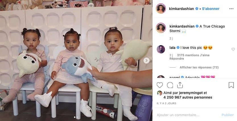 Chicago, True et Stromi : les triplées du clan Kardashian