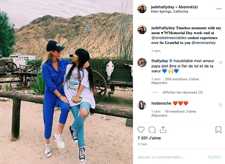 Laeticia et Jade Hallyday, unies dans l'adversité