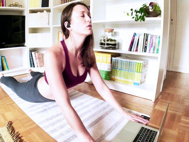 Du yoga en live