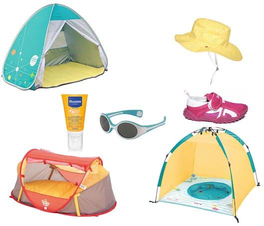 le top des accessoires anti UV pour la plage