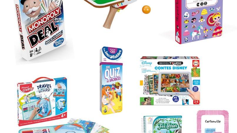 8 jouets nomades à emmener partout en vacances !