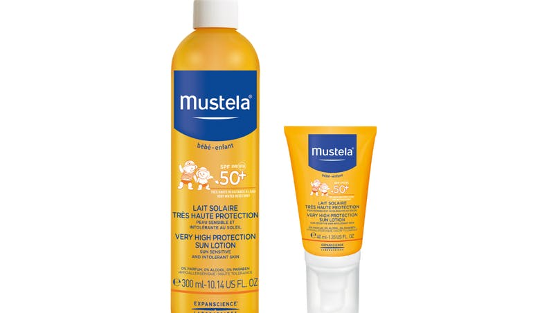 La crème solaire indice 50 Mustela