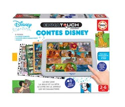 Les Contes Disney - Educa Touch Junior