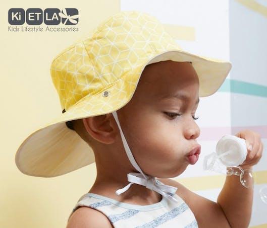 Le chapeau anti-UV couvrant