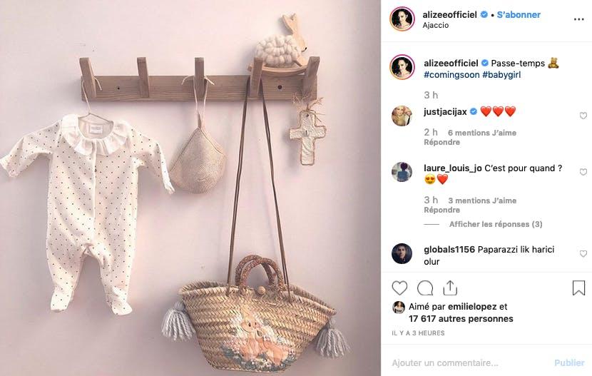 Alizée : préparatifs avant bébé 2