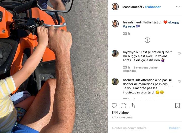 Léa Salamé : instant complice entre Raphaël Glucksman et leur fils
