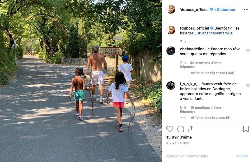 Vacances en famille chez les Dubosc