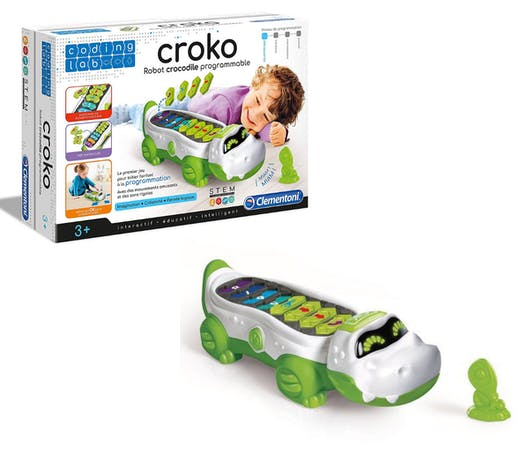 Croko, le robot crocodile programmable