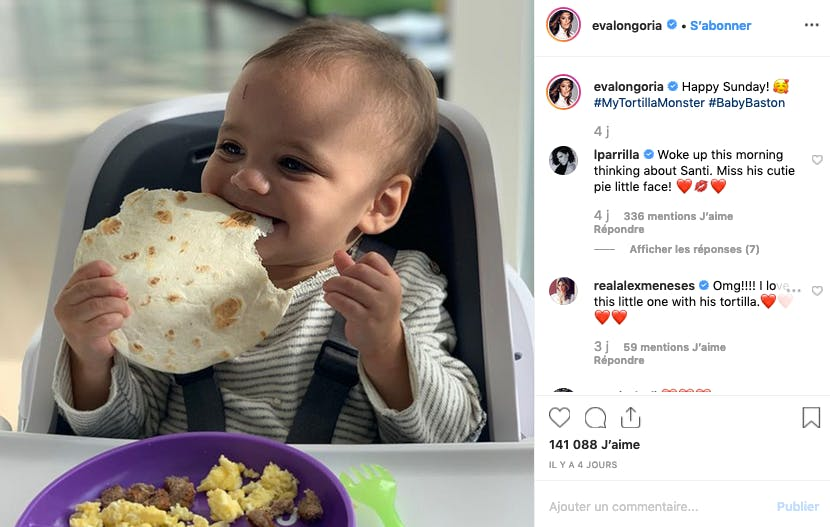 Eva Longoria : tortilla's lover