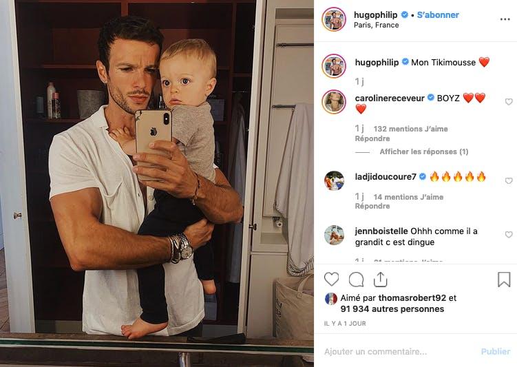 Hugo Philipp et Marlon : dis papa, pourquoi tu souris jamais ?