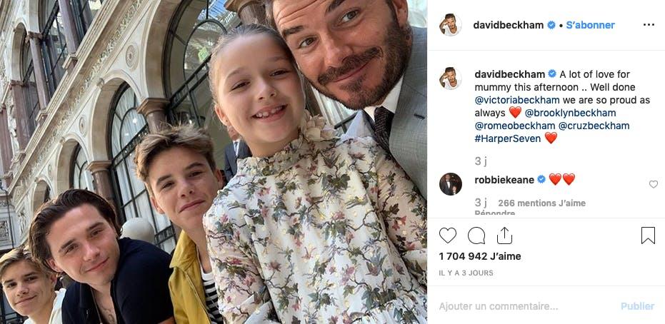 David Beckham ne serait-il pas le papa (et l'homme) parfait ?