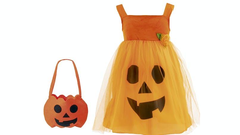 déguisement citrouille Halloween