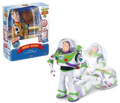Les incroyables figurines interactives Woody et Buzz