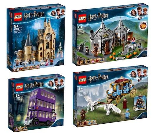 Plusieurs nouveaux sets LEGO Harry Potter