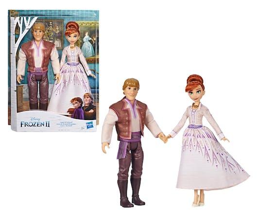 Les poupées Anna et Kristoff