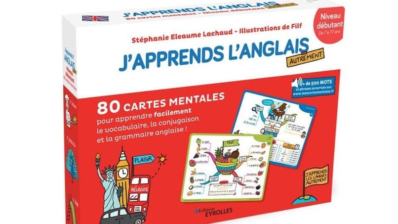 Les cartes mentales : J'apprends l'anglais