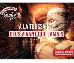 Musée Grévin fête Halloween