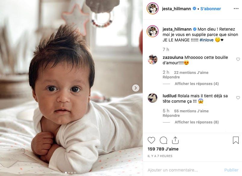 Il est pas trognon le bébé de Jesta ?