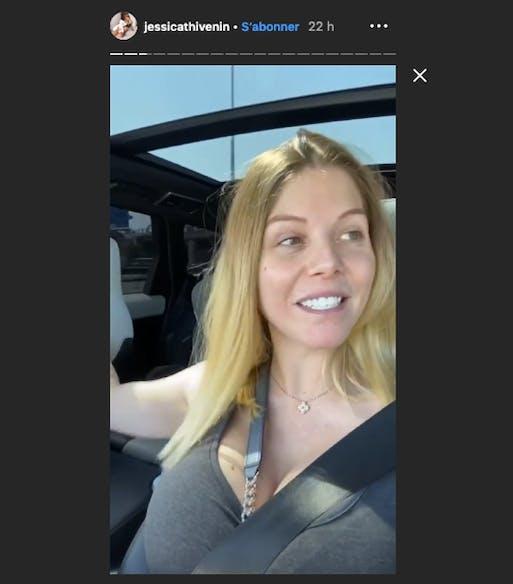 Après l'opération de son nouveau-né, Jessica Thivenin retrouve doucement le sourire