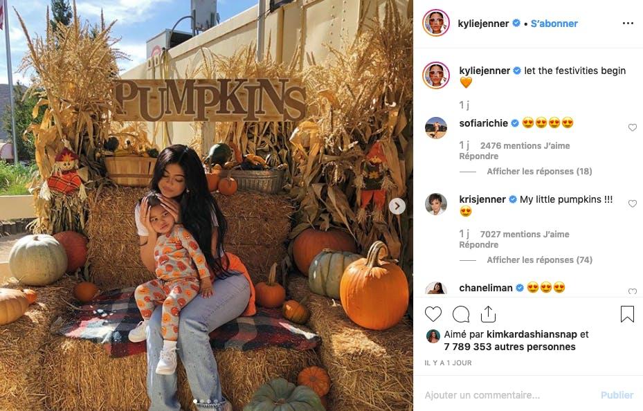 Kylie Jenner et Stormi sont prêtes pour Halloween !