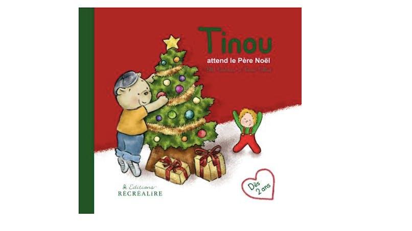 """""""Tinou attend le Père Noël"""" : un livre + un calendrier de l'Avent"""