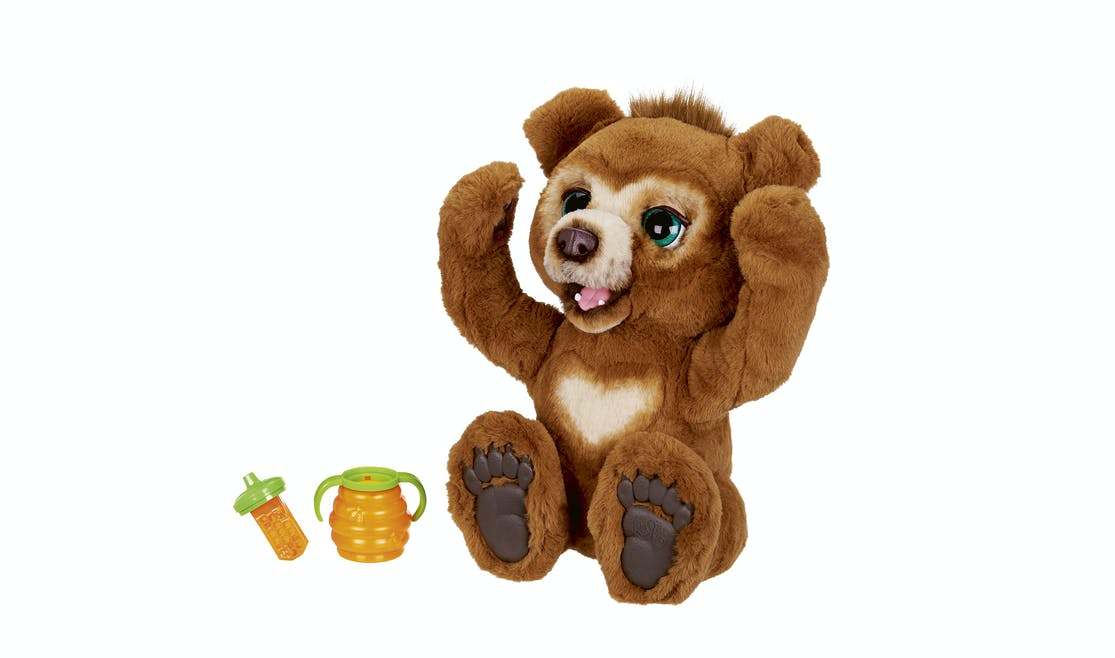 L'ours curieux, Furreal Friends Cubby, Hasbro,